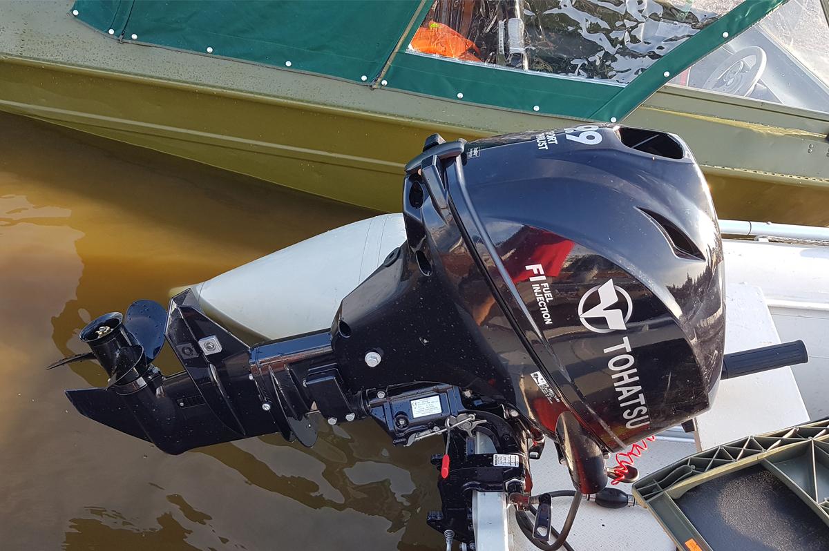 Моторы tohatsu тест